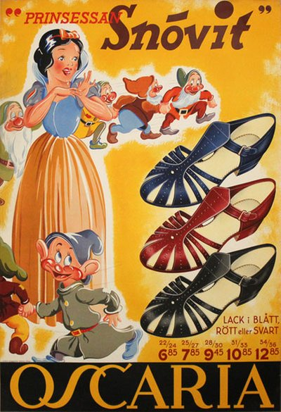 Oscaria Shoes - Snow White original poster