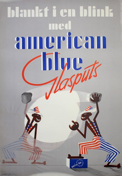 American Blue Glasputs poster
