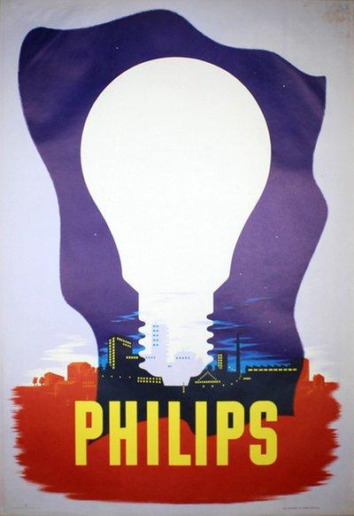 Light bulb poster design — 2