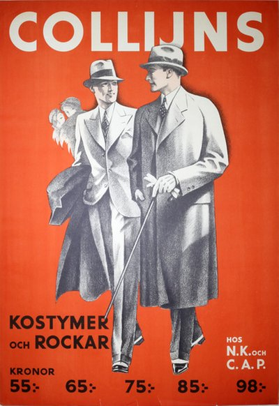 Collijns Kostymer och Rockar - Fashion Clothing original poster