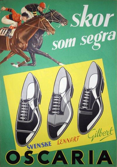 Oscaria Shoes - Winning shoes poster