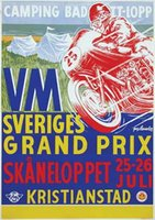 The Swedish motorcycle Grand Prix 1959 Skaneloppet Kristianstad