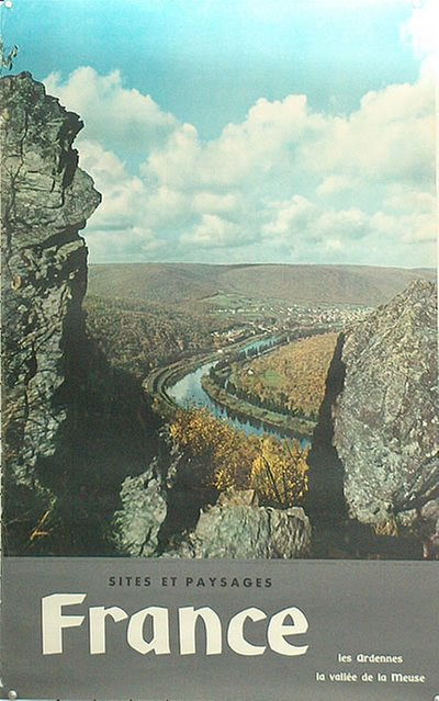 France - sites et paysages original poster