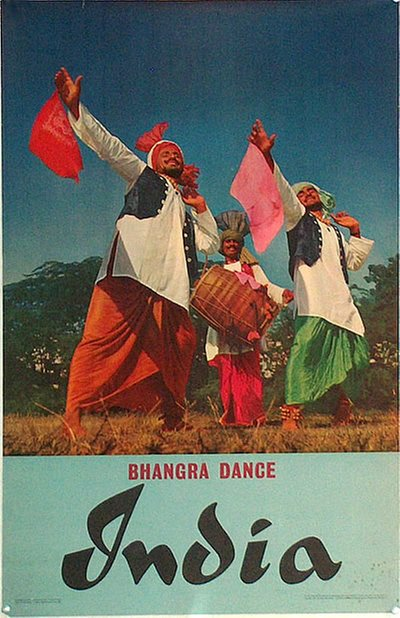 India Bhangra Dance original poster