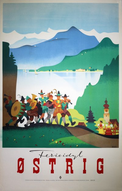 Austria original poster designed by Kosel, Hermann (1896-1983)
