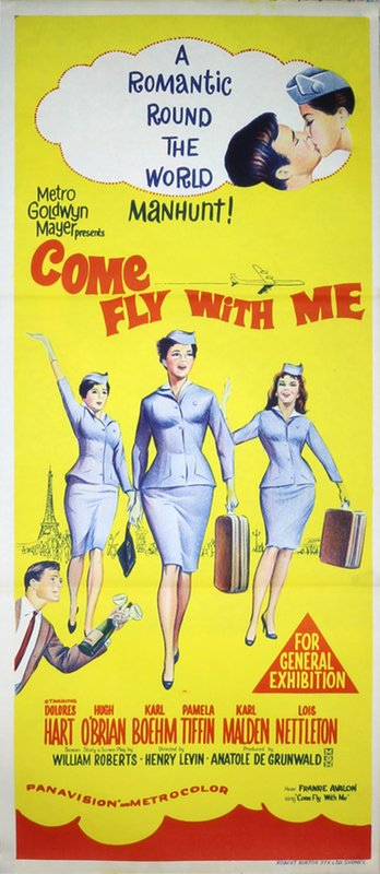 Come fly with me! Original Movie Poster poster