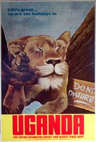 uganda_travel_lion_poster