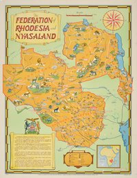 The Federation of Rhodesia and Nyasaland - Africa