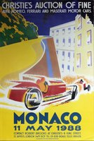 Monaco - Car Auction 1988
