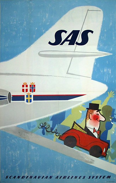 SAS - Fly & Hire poster