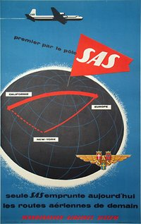 sas.over.the.pole.airline.poster