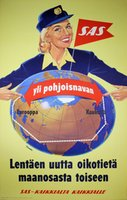 SAS - Over the Pole - Finnish