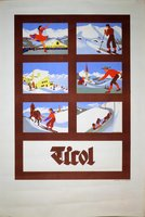 Tirol winter poster
