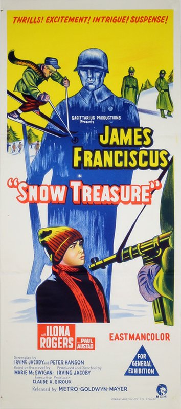 Snow Treasure original poster