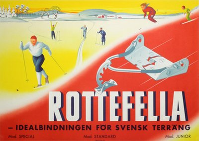Rottefella Skibinding poster