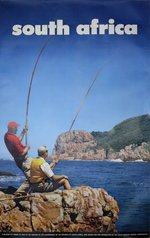 South-Africa-Fishing-travel-poster
