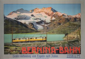 Bernina-Bahn Engadin Switzerland