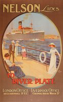 Nelson-Lines-River-Plate-ocean-liner-poster