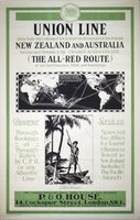 Union-Line-New-Zealand-Australia-1922-original-poster