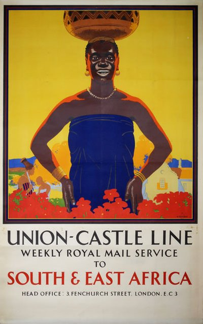 Union-Castle Line to South and East Africa Richard T. Cooper (1884-1957)