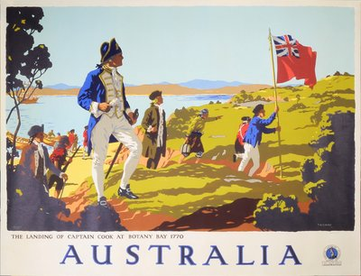 Australia original poster designed by Percy Trompf (1902-1964)