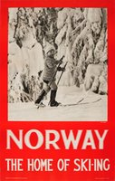 Norway-the-homme-of-skiing-Neupert-original-vintage-ski-poster