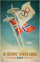Oslo-1952-VI-Olympic-Winter-Games-original-vintage-poster