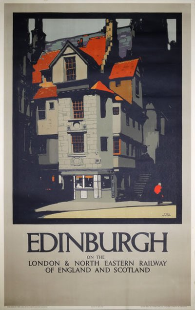 Edinburgh original poster designed by Taylor, Fred (1875-1963)