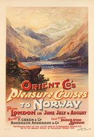 Pleasure-Cruises-Norway-London-1898-vintage-poster