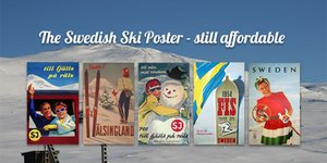 The Swedish Ski Poster - still affordable