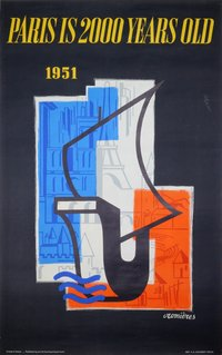Paris-2000-years-old-1951-poster