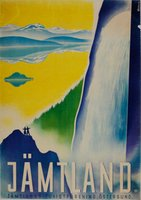Jamtland-Sweden-original-travel-poster