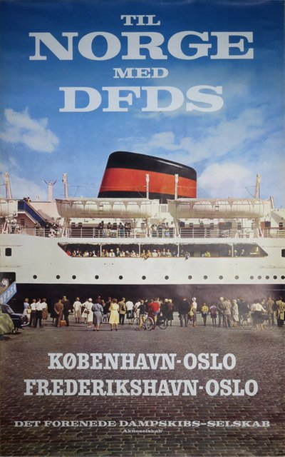 DFDS poster