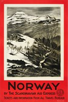 Norway by the Scandinavian Air Express