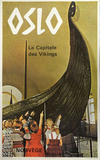 Oslo - the Viking Capital original poster