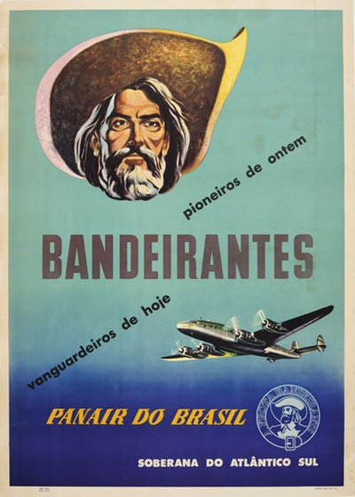 Panair do Brasil - Bandierantes original poster