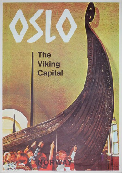 Oslo the Viking Capital Norway original poster