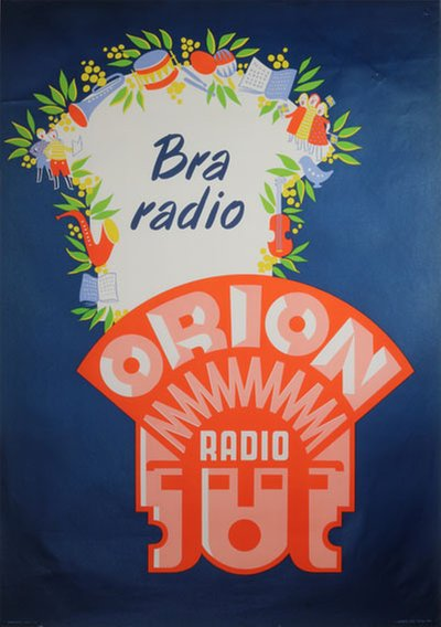 Orion Radio - Bra Radio original poster