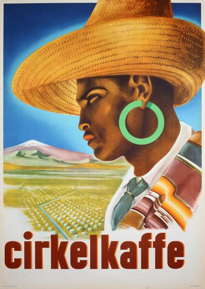 Cirkelkaffe original poster designed by Bernmark, Harry (1900-1961)
