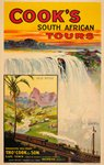 Vic falls vintage poster South Africa