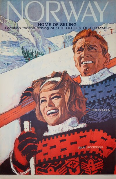 Norway home of skiing Heroes of Telemark original poster