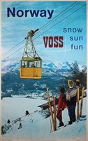 Norway Voss Snow Sun Fun