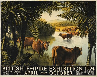 British Empire Exhibition 1924 original poster designed by Pryse, Gerald Spencer (1881-1956)