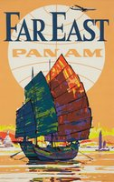 Pan-Am-Far-East-vintage-poster