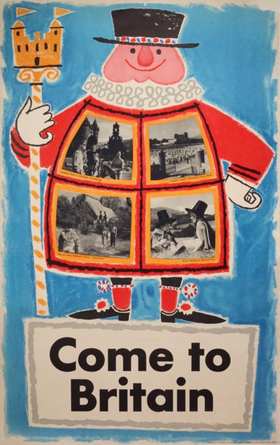Come to Britain original poster