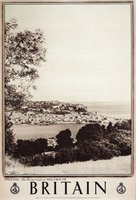 Britain-England-Devon-Coast-Teignmouth-original-poster