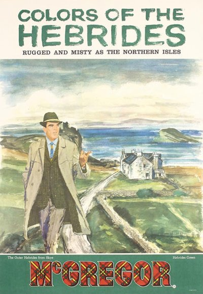 McGregor Colors of the Hebrides original poster