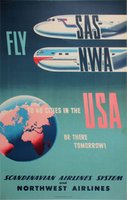 SAS NWA to USA Northwest Airlines