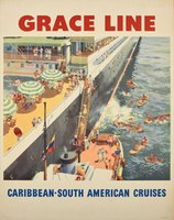 Grace Line Caribbean South American Cruises
