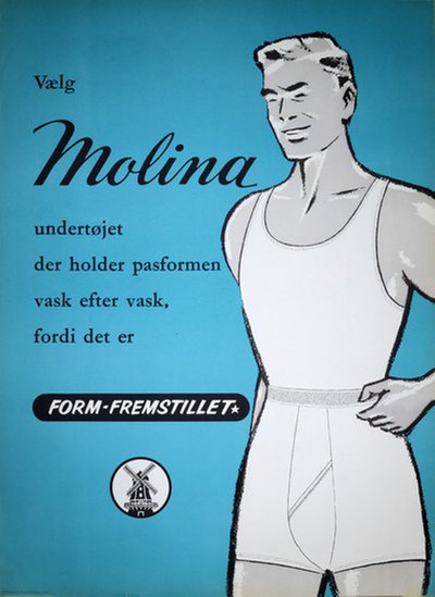 Molina Underwear for Men poster